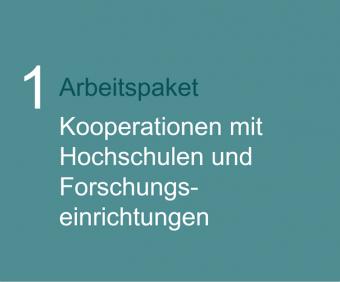 1. Arbeitspaket: HOCHSCHULKOOPERATIONEN