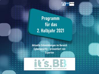Programm für das 2. Halbjahr 2021